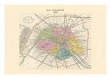 Paris, Capitale de la France Wandtattoo von Alexandre Vuillemin