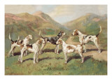 Fell Foxhounds Wall Decal by Thomas Ivester Llyod