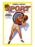 Sport Story Magazine: Basket Bombers Wall Decal