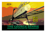 The George Bennie Wall Decal
