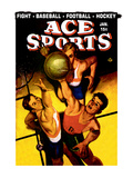 Ace Sports: Basketball Wall Decal