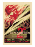 2nd International Barcelona Grand Prix Wall Decal
