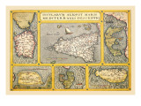 Maps of Italian Islands Wall Decal by Abraham Ortelius