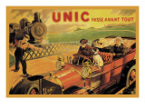 UNIC, Racing Across Train Tracks Wall Decal