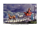 Horse-Drawn Carriage Wall Decal by Henry Thomas Alken