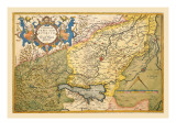 Map of Northeastern Italy, Verona Wall Decal by Abraham Ortelius