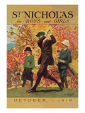 St. Nicholas for Boys and Girls Wall Decal by Garrett Price