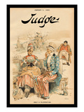 Judge Magazine: Only a Flirtation Wall Decal by Grant Hamilton