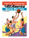 The All-America Sports Magazine: Fumbled Fouls Wall Decal