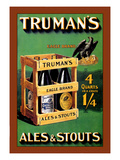 Truman's Ales and Stouts Wall Decal by Frances Smith