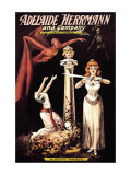 Adelaide Herrmann and Company: Hindoo Magic Wall Decal