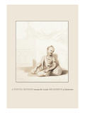 Young Hindoo Wall Decal by Baron De Montalemert
