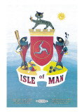 Isle of Man Wall Decal by Daphne Padden