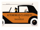Automobiles Classiques a Bagatelle Wall Decal