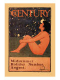 The Century: Midsummer Holiday Number, August Wall Decal by Maxfield Parrish