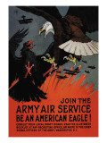 Join the Army Air Service: Be an American Eagle! Wall Decal by Charles Livingston Bull
