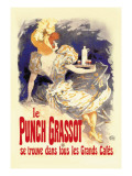 Le Punch Grassot Wall Decal by Jules Chéret