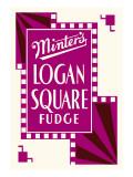 Minter's Logan Square Fudge Wall Decal