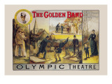 The Golden Band Wall Decal by Harry Tuck