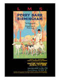 Perry Barr, Birmingham, Greyhound Racing Wall Decal