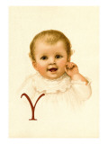 Baby Face Y Wall Decal by Ida Waugh
