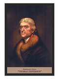 Thomas Jefferson Wall Decal by Rembrandt Peale