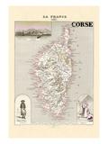 Corse Wandtattoo von Alexandre Vuillemin