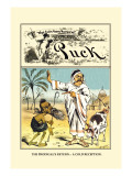 Puck Magazine: The Prodigal's Return Wall Decal by Frederick Burr Opper