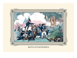 Battle of Enotichopco Wall Decal by  Devereux