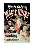 Musee Grevin Magie Noire: Apparitions Instantanees Par le Professeur Carmelli Wall Decal by Jules Chret