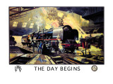 The Day Begins Wall Decal