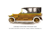 Landaulet with Hood over Front Seat Wall Decal
