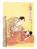 The Hour of the Dragon Wall Decal by Kitagawa Utamaro