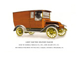 Light Electric Delivery Wagon Wall Decal