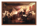 Declaration of Independence Wall Decal by John Trumbull