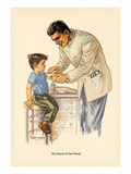 The Doctor is Our Friend Wall Decal by Charlotte Ware
