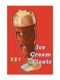 Ice Cream Float Wall Decal