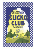Clicko Club Sandwich Wall Decal