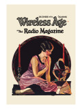 Wireless Age: December 1924 Wall Decal by  Wistehuff