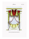 French Empire Alcove Bed No. 22 Wall Decal
