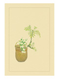Japanese Peppers Wall Decal by Sofu Teshigahara