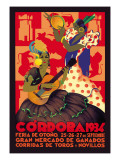 Cordoba, Feria de Otono Wall Decal by Gertrude Leooley