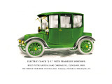 Electric Coach J-5 Wall Decal