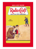 Radio Craft: Radio Prospecting Wall Decal