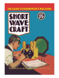 Short Wave Craft: How to Make the New All-Wave Receiver Wall Decal