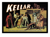 Kellar: The Witch, The Sailor and the Enchanted Monkey Wall Decal