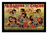 Al G. Barnes Trained Wild Animal Circus Wall Decal