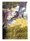 Ambush Wall Decal by Newell Convers Wyeth