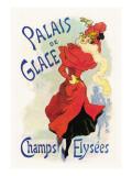 Palais de Glace: Champs Elysees Wallstickers af Jules Chéret