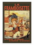 La Framboisette Wall Decal by Francisco Tamagno